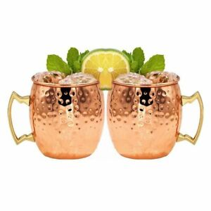 Anniversary Gift Beer Cups Moscow Mule Mugs Hammered Barrel Shape Copper Mug,/Drinking Mugs Beer Mugs