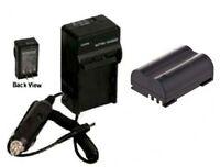Blm1 Blm01 Battery + Charger For Olympus C-5060 C-7070 C-8080 E-1 E-3 E-30 E-520
