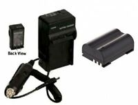 Blm1 Blm01 Battery + Charger For Olympus C-5060 C-7070 C-8080 E-1 E-3 E-30 E-520