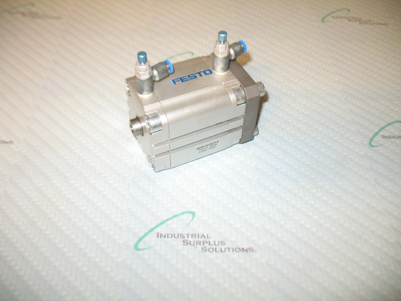 FESTO ADVU-50-40-P-A   156555 COMPACT CYLINDER 40MM STROKE