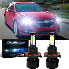 For Chevy Cruze 2011 2012 2013 2014 2015 Led Headlight Bulbs Combo Hilo Beam Fits 2012 Chevrolet Cruze Lt