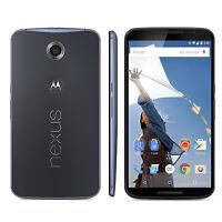 5.96-inch Motorola Nexus 6 (xt1103) 32gb Unlocked Android 4g Smartphone -blue