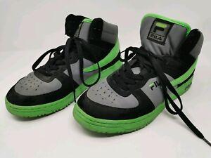 Fila Foggia Hi Grey Green Black 8