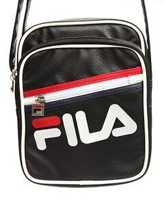 eff238307 Image is loading NEW-FILA-buster-shoulder-bag-flsb315-BLACK-OR-
