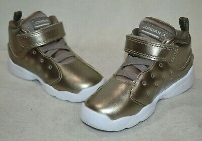 sports shoes c0f83 63144 Jordan Jumpman Team II SE (TD) Sepia Stone Girl's Toddler Sneakers-Asst  Size NWB | eBay