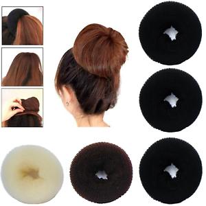 Bun Mesh Hair Shaper Styler Donut Former Ring Bun Maker Size 10.5 ...