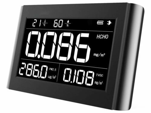 Qualité de l/'air Détecteur PM2.5 HCHO COVT formaldéhyde Température Humidité Meter M10