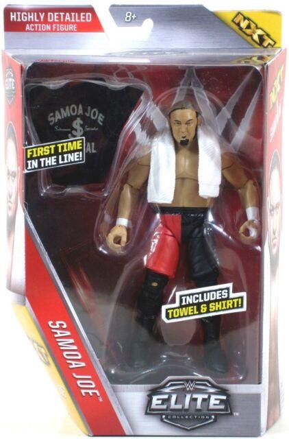*LOOSE* Mattel WWE Elite SAMOA JOE Series 43 NXT Action Figure