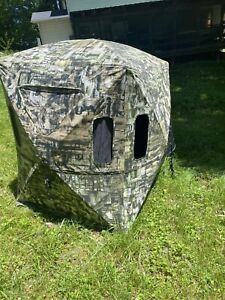 Primos 65152 Double Bull Surround View 180 Degree Ground Blind