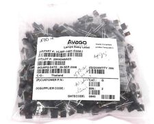 BAG OF 495 NEW AVAGO HLMP-1401-D00A1 LED, T-1, YELLOW, 3.6MCD, 585NM LAMPS