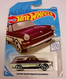 Mattel-Hot-Wheels-Custom-039-69-Volkswagen-Squareback-Nuevo-Sellado