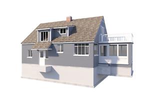 3 Bedroom Farmhouse W Sunroom Plans Diy Country House Home 1476 Sq