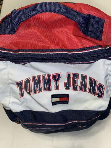 Vintage Tommy Hilfiger Tommy Jeans Backpack Red  B