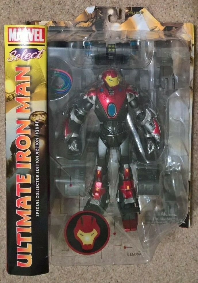 MARVEL Select Ultimate Iron Man 7 inch scaled collectors figure