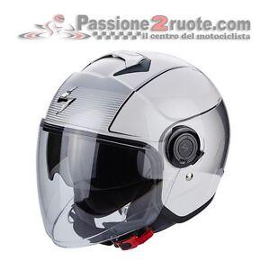 helmet jet motorroller scorpion exo city wind wei schwarz. Black Bedroom Furniture Sets. Home Design Ideas
