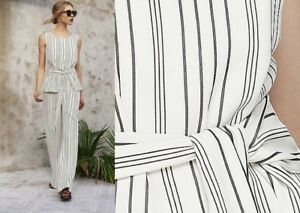 LONG-TALL-SALLY-IVORY-BLACK-STRIPE-CHUNKY-TIE-KNOT-TOP-BLOUSE-SIZES-12-TO-22