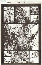X-Men #207 p.4 - Predator X Action - 2008 art by Chris Bachalo