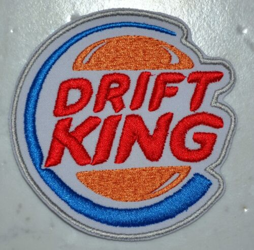 King of Drift PATCH Aufnäher Parche brodé patche toppa JDM Tuning Racing car