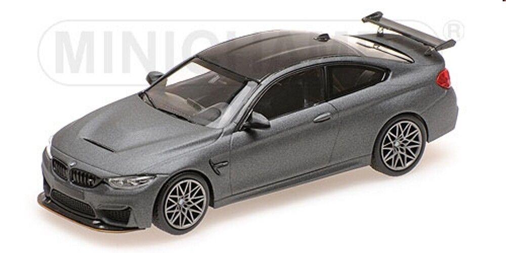 BMW M4 GTS in  gris-Matt Metallic BJ 2016 1 43 Minichamps 410025225 nouveau & OVP  commander maintenant les prix les plus bas