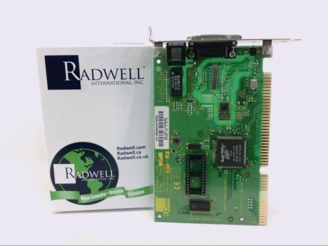 10Base-T Network Adapter New in Box 3Com Etherlink III 16 bit