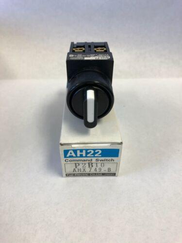 AH22-P2 Fuji Electric Command Switch P2B10AHX749-B