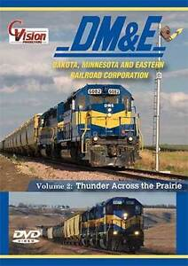 Dakota-Minnesota-amp-Eastern-Railroad-2-Disc-DVD-NEW-Vol-2-DM-amp-E-Yale-Mansfield