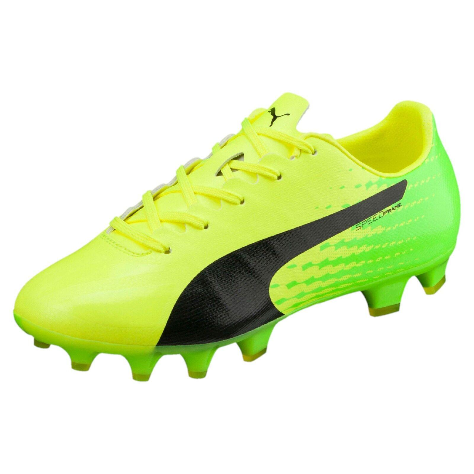 PUMA evoSPEED 17 SL-S FG Kinder Fußballschuhe Fußball Schuhe Unisex Neu