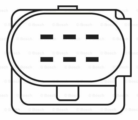Bosch Lambda Oxygen Sensor Fits VW Lupo 1.0 #4 FAST DELIVERY