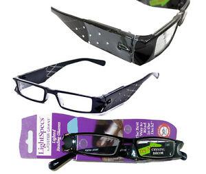Foster Grant Lighted Reading Glasses