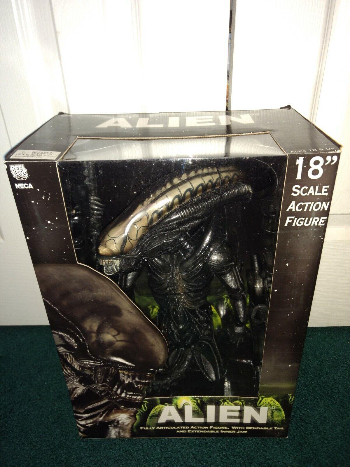 NECA 18  1 4 Alien Big Chap Comme neuf dans emballage scellé  2008 articulés  souple queue extensible Jaw