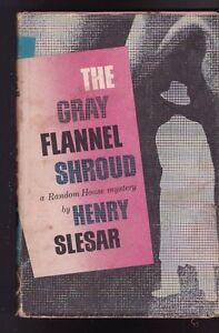 Details about The Gray Flannel Shroud by Henry Slesar HC DJ Random House  Mystery 1959