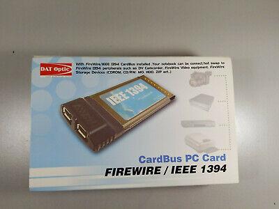 Western Digital IEEE 1394 FireWire CardBus PC Card
