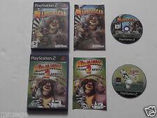 """Madagascar & Madagascar 2 ESCAPE a África para Playstation 2 """"difícil de encontrar"""""""