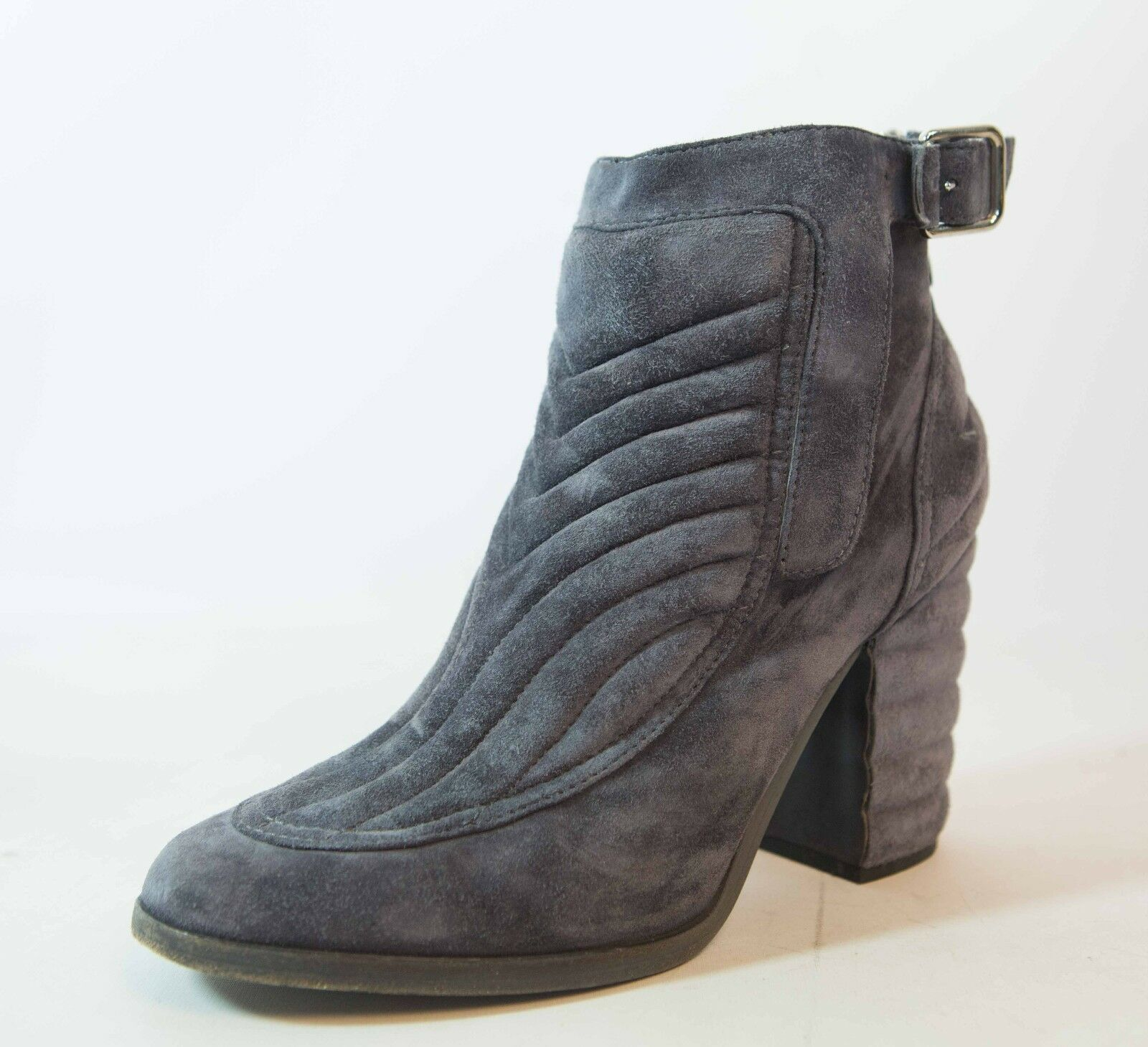 LAURENCE DACADE DACADE DACADE Barbara suede quilted boots booties grey 39.5 e1f4ed