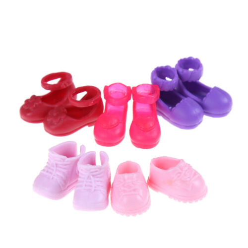 5Pairs Fashion Shoes Boots For  Sister Kelly Eva Doll Kids Gift SU