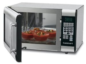 Image Is Loading Cuisinart Cmw 100 1 Cubic Foot Stainless Steel