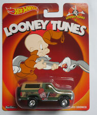 Hot Wheels 1:64 Looney Tunes Elmer Fudd - Ford Bronco 1985 Brand new