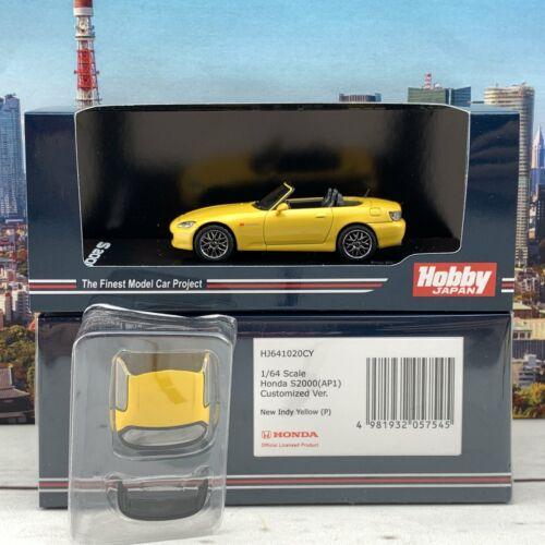 HOBBY JAPAN 1//64 Honda S2000 AP1 Type 200 Customized Version Yellow HJ641020CY