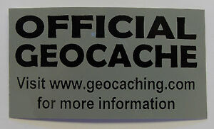 3-x-Cache-stickers-for-Geocaching-black-print-on-gray-sticker
