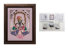 Mirabilia Cross Stitch Chart & Embellishment Pack Alice MD157