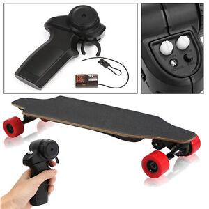 2-4GHz-Radio-Remote-Controller-w-Receiver-Binding-Plug-for-Electric-Skateboard