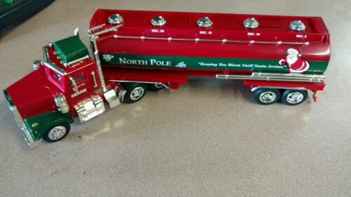 SEARS NORTH POLE FUEL OIL 18 WHEEL TANKER TRUCK COINBANK  2000 LIMITED EDITION N