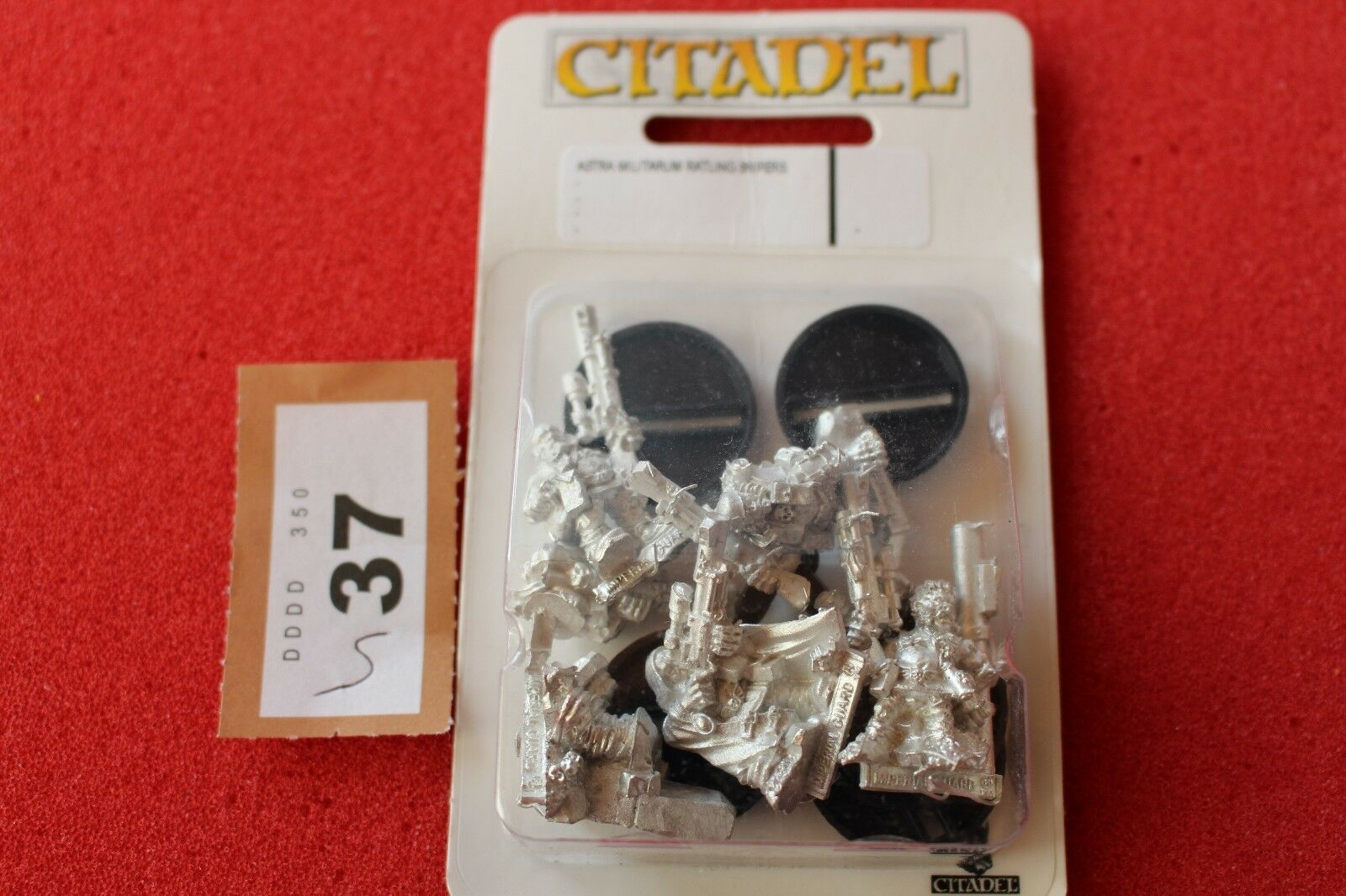 Games Workshop Warhammer 40k Astra Militarum Ratlings Snipers Metal x5 BNIB GW