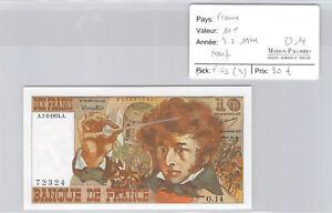 France 10 Francs Berlioz 7.2.1974 O.14 N°0033872324 F63 (3)