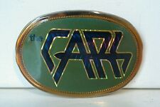 Vtg. The Cars Belt Buckle  1978  The Cars Music Rock Band Fans     (A6)