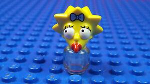 LEGO-MINIFIGURES SERIES X 1 HEAD FOR LISA SIMPSON SERIES 1 SIMPSONS PARTS 1