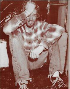 Plakat Foto Sepia Kurt Cobain - 35 X 28 CM