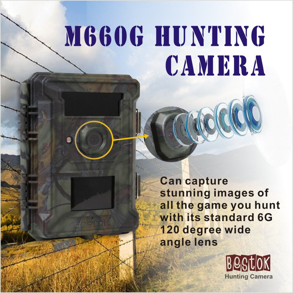 Bestok Infrared Hunting 940NM 12MP Wide  Angle Scouting Trail Game Camera + 8GB  most preferential