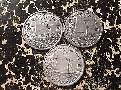 1922 1930 France Toulouse 10 Centime 1 Coin Only 3 Available Circulated
