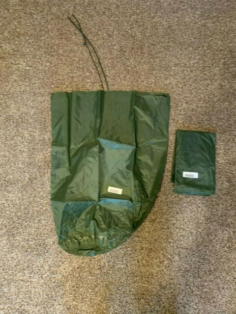 US Army Military WATERPROOF CLOTHES Clothing GEAR WET WEATHER LAUNDRY BAG GC